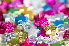 Color stars Royalty Free Stock Photography