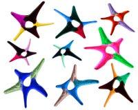 Color stars set Stock Photos