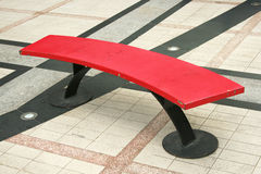 Color steel bench Stock Photos