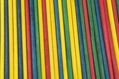 Color stick textures Stock Images