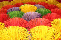 Color sticks. On sale in Vietnbam near Hue Stock Image
