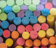 Color Sticks Chalk Stock Photo