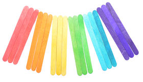 Color sticks Royalty Free Stock Photography