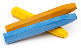 Color sticks Royalty Free Stock Images