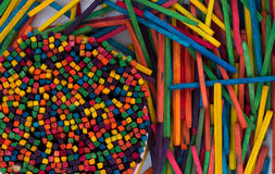 Color Sticks Stock Image