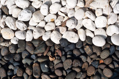The color of stone. Black and white stone color royalty free stock photography
