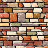 Color stone wall Royalty Free Stock Images