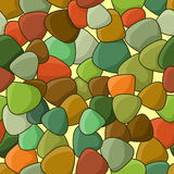Color stones texture Royalty Free Stock Images