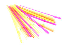 Color Straws Royalty Free Stock Images