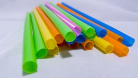 Color of Straws royalty free stock photos