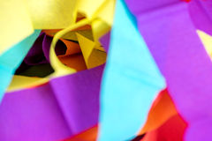 Color strip paper Royalty Free Stock Photography