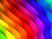 Color stripe abstract background. 3d illustration Royalty Free Stock Photos