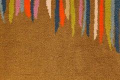Color Stripe Carpet. Abstract Color Stripe Carpet Background Stock Photo