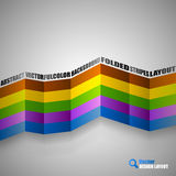 Color Stripes Stock Images