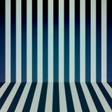 Color stripes background. Room interior. Vector illustration Stock Photo