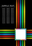 Color strips Stock Photography