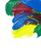Color strokes Stock Photos