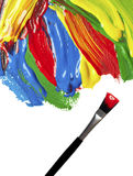 Color strokes Royalty Free Stock Photo