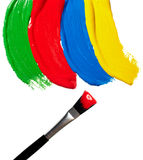 Color strokes Royalty Free Stock Image