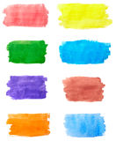 Color strokes Royalty Free Stock Images