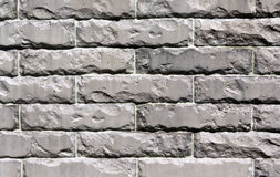 Color stylized brick wall texture background. Royalty Free Stock Images