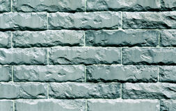 Color stylized brick wall texture background. Stock Photo