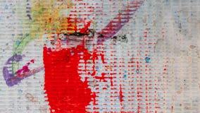 Color sucio Art Paint On Cloth imagenes de archivo