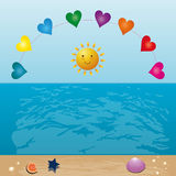 Color summer Royalty Free Stock Image