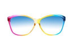 Color sunglasses Royalty Free Stock Image