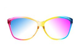 Color sunglasses Stock Photography