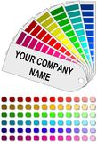Color swatch Royalty Free Stock Photo