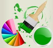 Color swatch Stock Photos