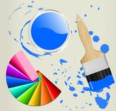 Color swatch Stock Photography