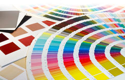 Color Swatch choices Stock Photo