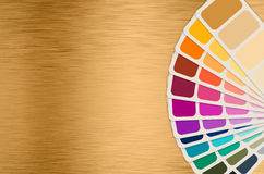 Color swatch collection. Color guide or color swatch collection stock photography