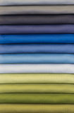 Color swatch of fabric Royalty Free Stock Image