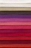 Color swatch of fabric textiles Stock Photography