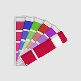 Color swatch palette Royalty Free Stock Photos