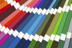 Color Swatch Spectrum Background royalty free stock photos
