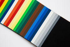 Color swatch Royalty Free Stock Image