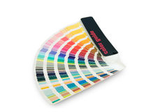 Color swatches Royalty Free Stock Images