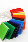 Color swatches Royalty Free Stock Image