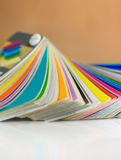 Color swatches stock photos