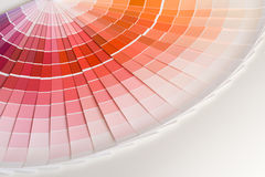 Color swatches Stock Image
