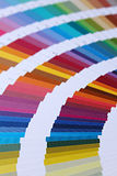 Color Swatches. Graphic Designers Color Swatch Book royalty free stock images