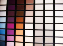 Color Swatches. Background Royalty Free Stock Images