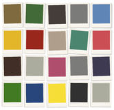 Color Swatches Colorful Palette Design Paint Concept Stock Photos