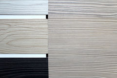 Color swatches of countertops Royalty Free Stock Photo