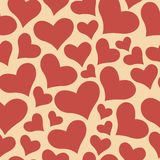 Color sweet All Lovers Day Valentine pattern. Seamless vector background Royalty Free Stock Photography
