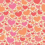 Color sweet All Lovers Day Valentine pattern. Royalty Free Stock Photography